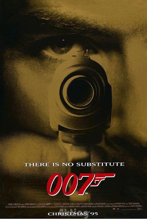 电影《007之黄金眼》封面