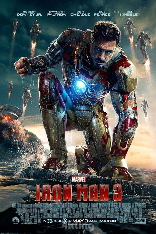 电影《钢铁侠3》封面