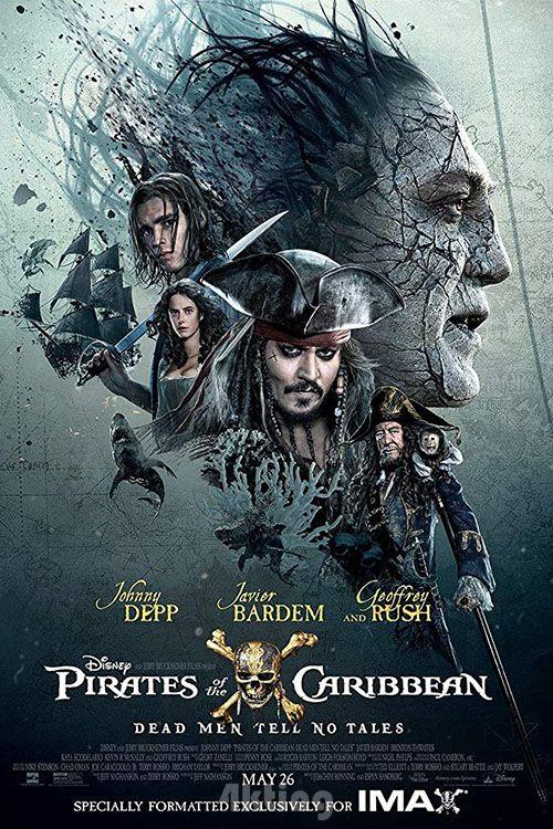 电影《加勒比海盗5:死无对证》封面