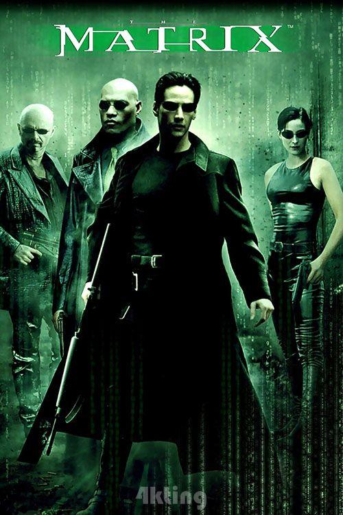 电影《黑客帝国 》封面